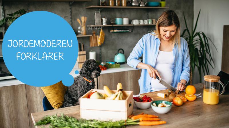 Kost og graviditet – råd til hvad du skal spise og hvad du skal undgå at spise, når du er gravid