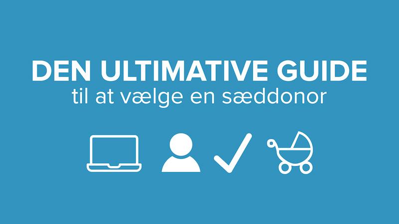 Cryos' guide til at vælge en sæddonor til fertilitetsbehandlling