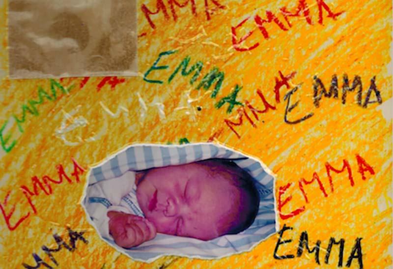 Donorbarnet Emma som baby