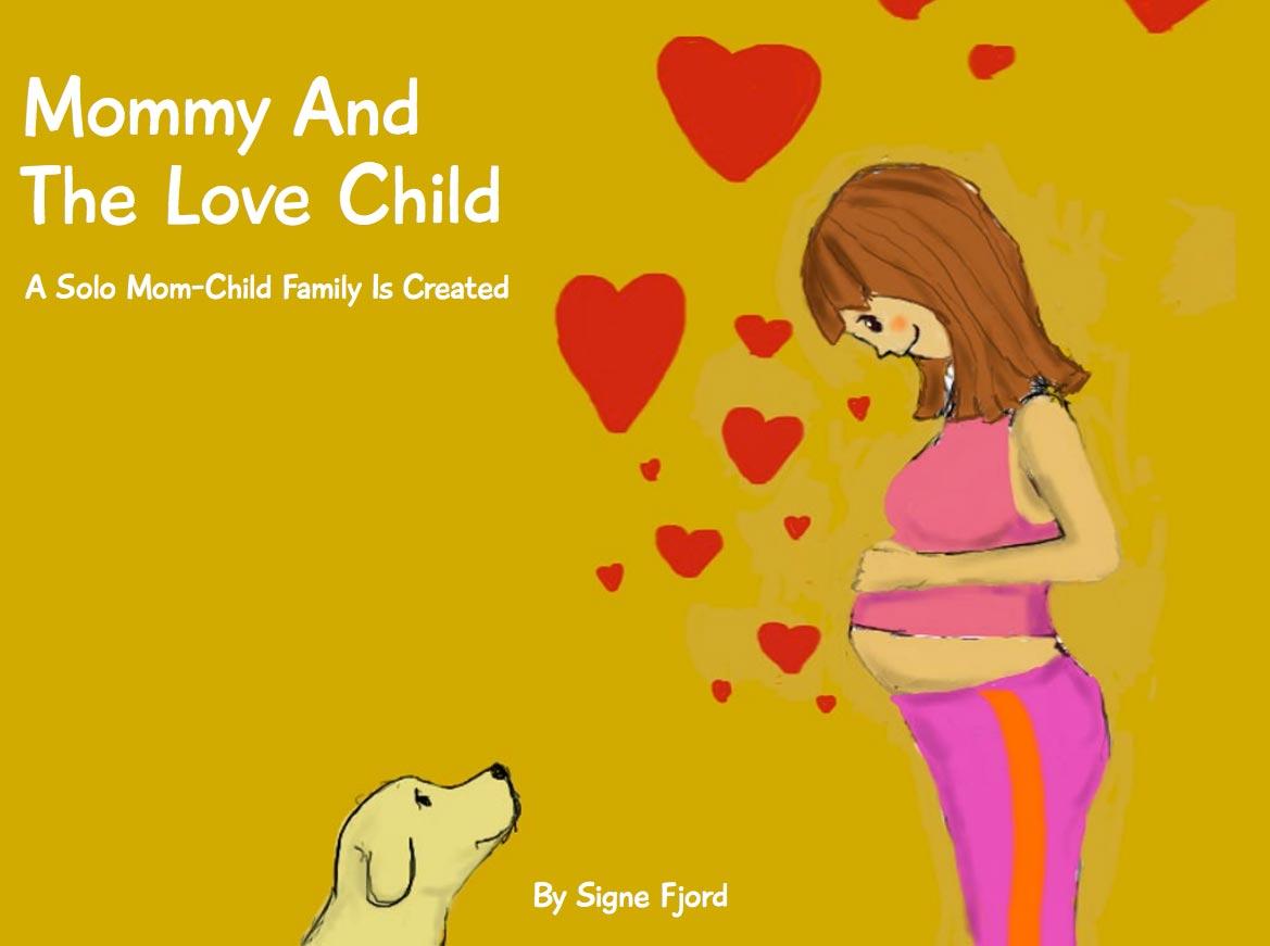 Animation af en gravid solomor