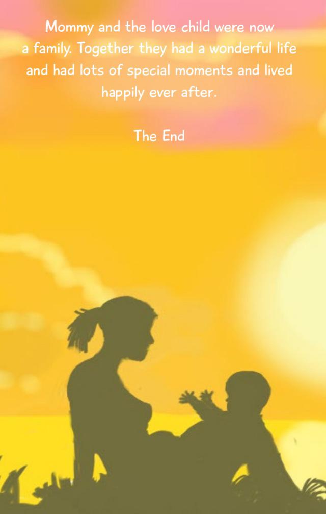 Citat om en solomor og hendes kærlighedsbarn