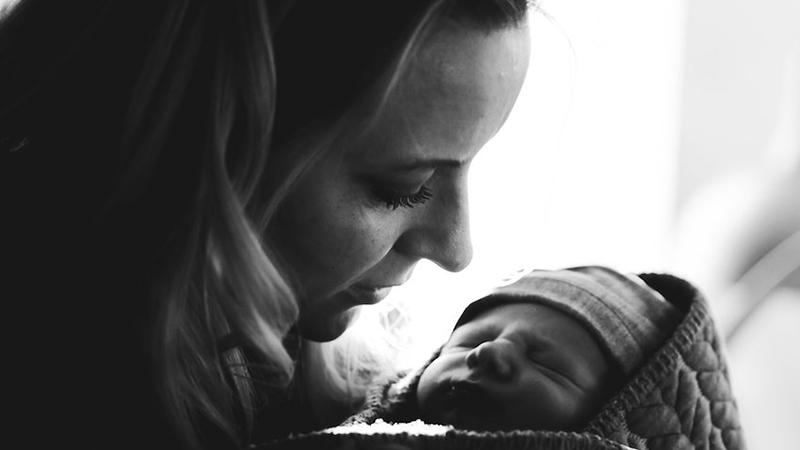Selvvalgt singlemor med donor baby