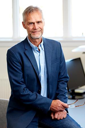 Grundlæggeren af Cryos international, Ole Schou - Foto fra Cryos pressemateriale