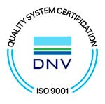 Cryos er certificeret i henhold til den internationalt anerkendte standard for kvalitetsledelse, ISO 9001:2015.