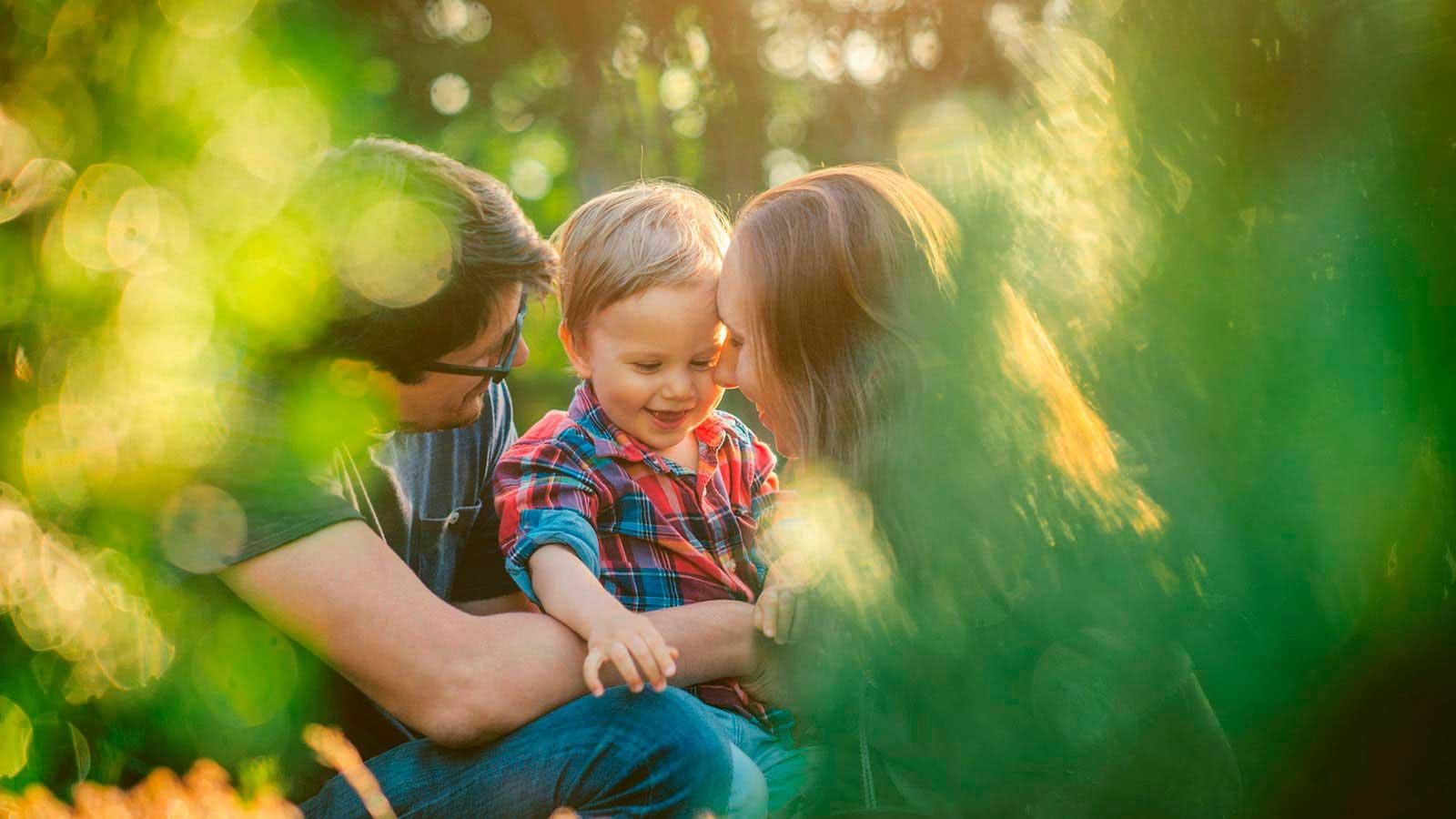 Familie der har fået deres drøm om en baby til at gå i opfyldelse takket være Cryos
