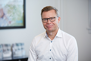 Peter Reeslev, CEO von Cryos – Foto aus der Cryos-Pressemappe.