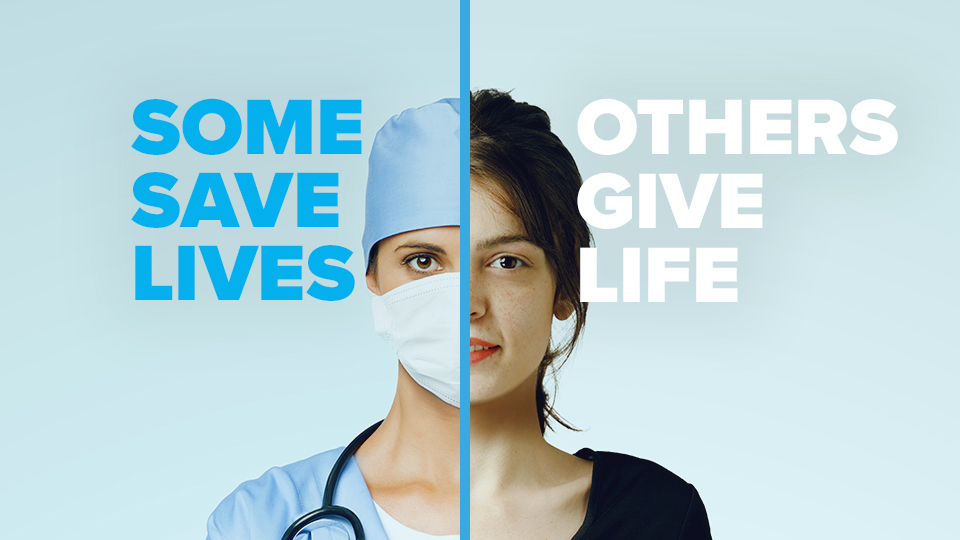 Female doctor and Cryos egg donor united