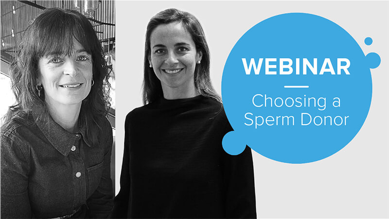 Choosing a sperm donor webinar with single mum coach and Cryos