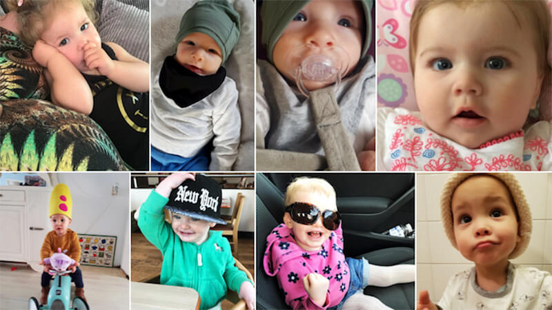 Happy Mothers Day - pictures of donor babies