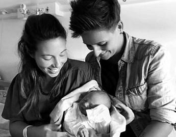 Gabriella, Dalila and Enea, Italy kid