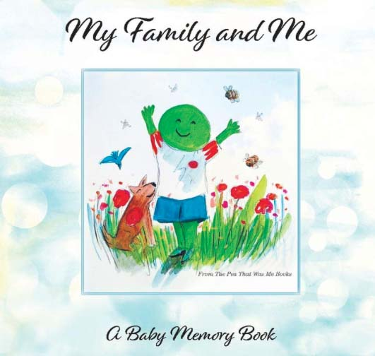 My family and me - a children's book about being donor conceived