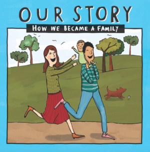 Our story - how we became a family