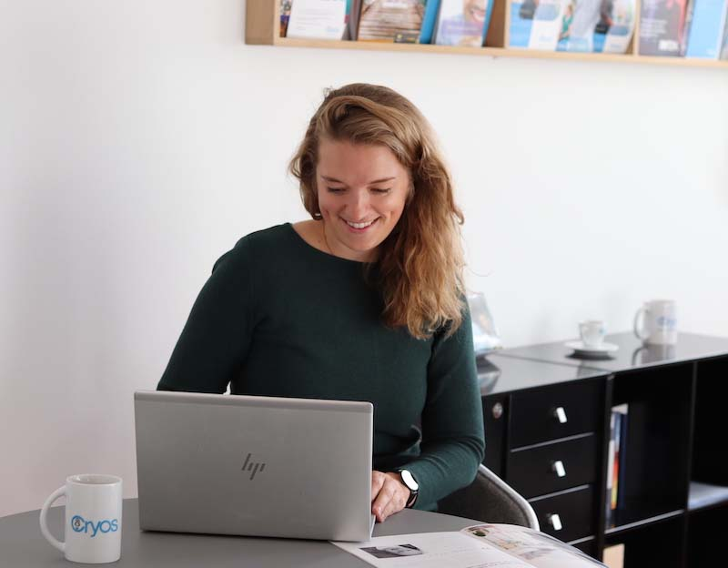 Signe works and Cryos and understands customers who wants to use donor sperm to become two mums