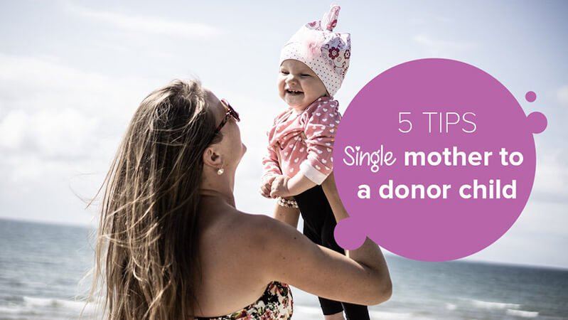 Single mother to a donor child