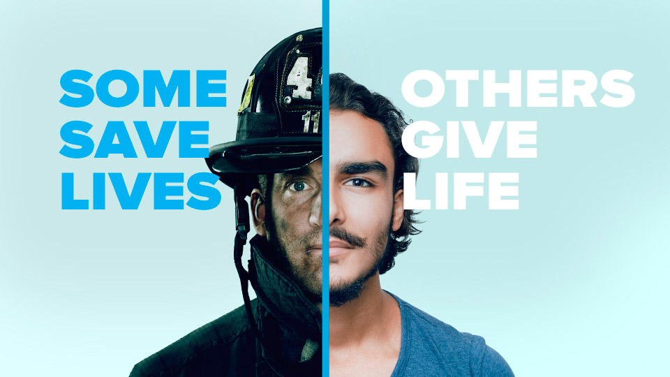 Some save lives - others give life - become a donor at Cryos