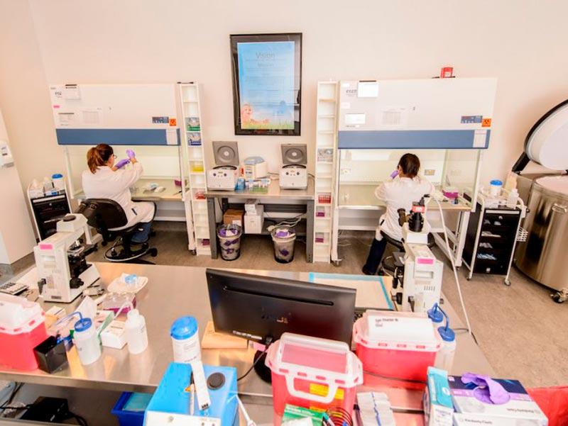 Cryos International's Sperm Donor Lab