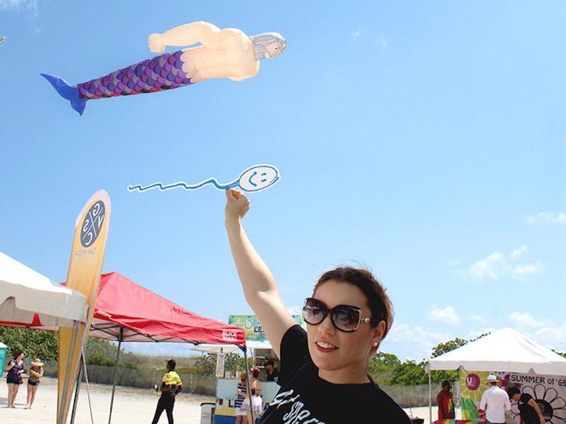 Miami Beach Gay Pride with Cryos International Sperm and Egg Bank