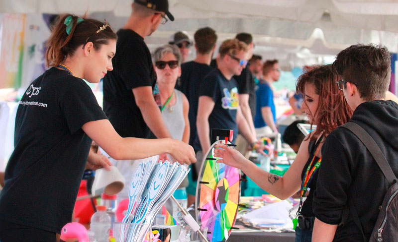 Cryos International Sperm and Egg Bank attended Fort Lauderdale Pride - LGBTQ