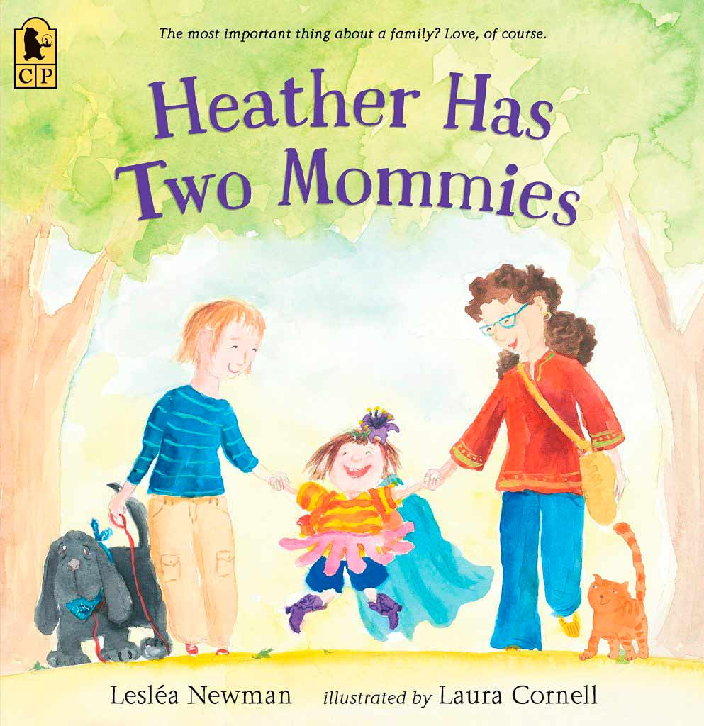 LGBTQ family - books for donor conceived children