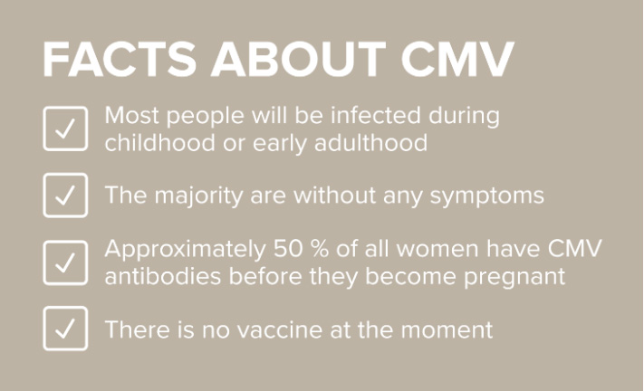 ¿Afectará a mi bebé una infección por CMV aguda?