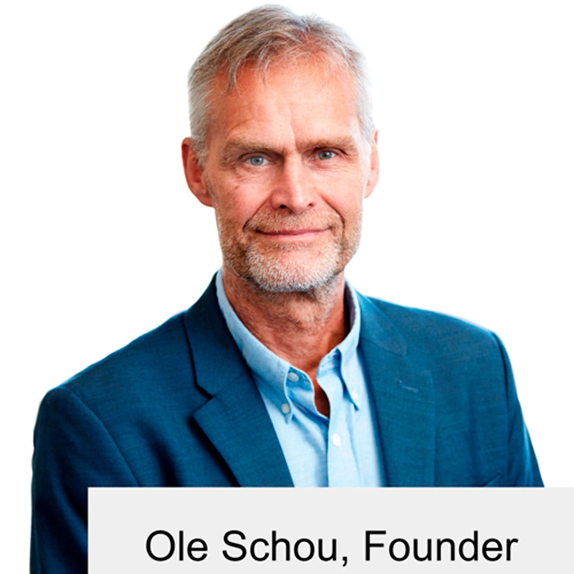 Ole Schou, founder of Cryos