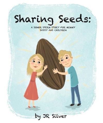 精子ドナーについての絵本『Sharing Seeds』