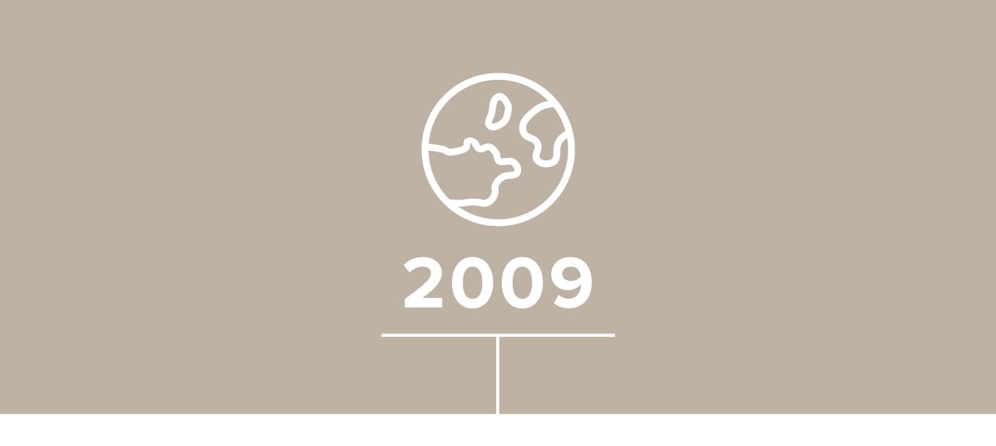世界の50以上の国々への配送を達成