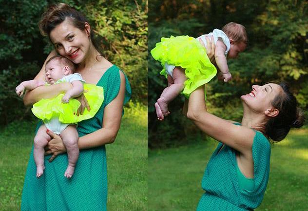 通过捐献者生儿育女成为幸福的妈妈